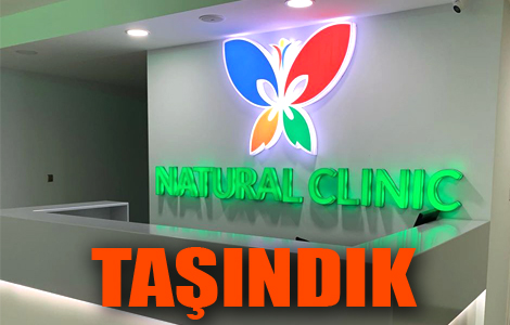 NATURAL CLINIC TAŞINDI.